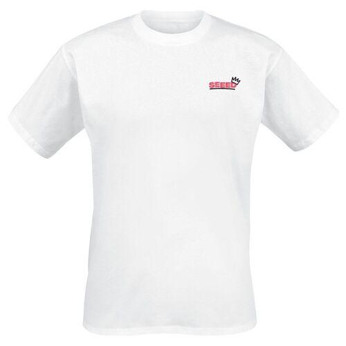 Seeed Krone Herren-T-Shirt  - Offizielles Merchandise weiß