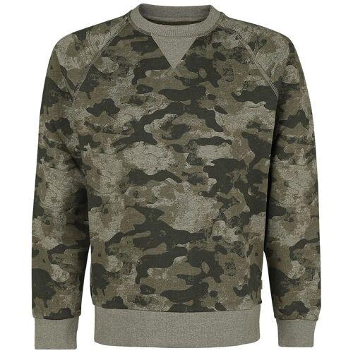 Produkt Camo Aop Crew Neck Herren-Sweatshirt camouflage