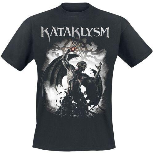 Kataklysm Unconquered Herren-T-Shirt  - Offizielles Merchandise schwarz