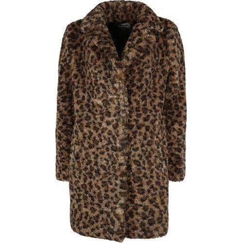 Noisy May Gabi Jacket Damen-Mantel leopard
