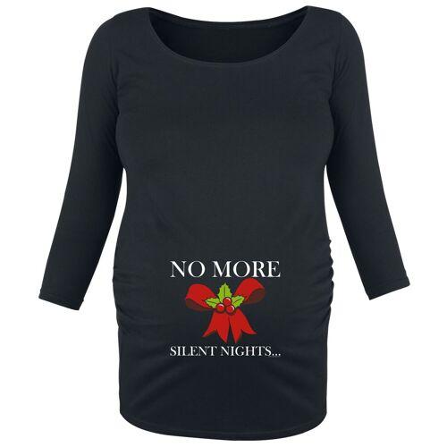 Umstandsmode No More Silent Damen-Langarmshirt