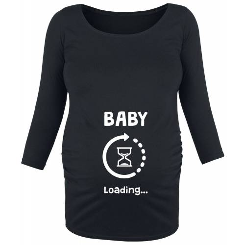 Umstandsmode Baby Loading Damen-Langarmshirt