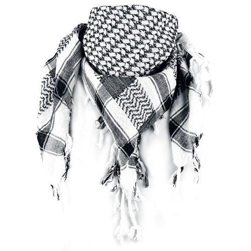 Rock Daddy Palästinenserschal Schal-weiß schwarz weiß