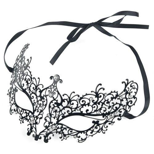 Metallmaske Maske-schwarz schwarz