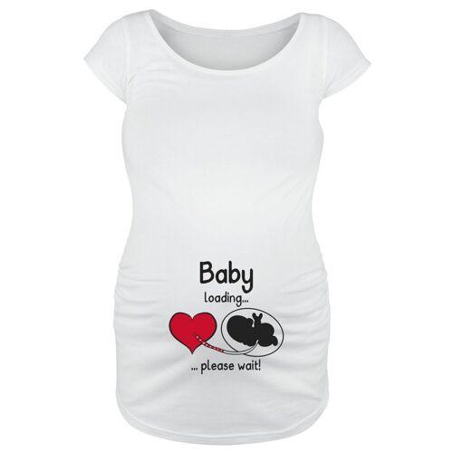 Umstandsmode Baby Loading ... Damen-T-Shirt