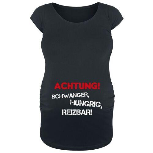 Umstandsmode Achtung! Schwanger, Damen-T-Shirt