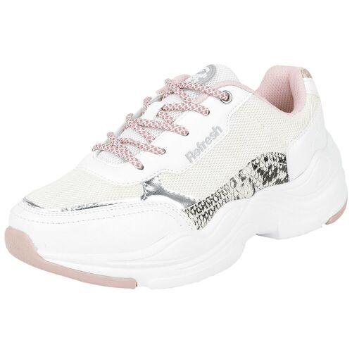 Refresh Sneaker Low Damen-Sneaker weiß