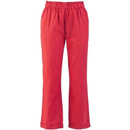 Spray Rose Pant 4 Damen-Stoffhose rot
