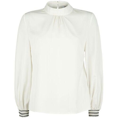 Banned Retro Blouse Damen-Bluse weiß
