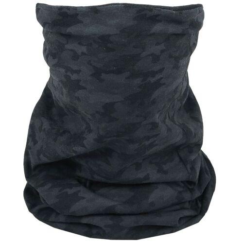 Black Premium by EMP Gesichtsmaske Schal-darkcamo darkcamo