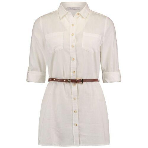 Hailys Larissa Damen-Bluse weiß
