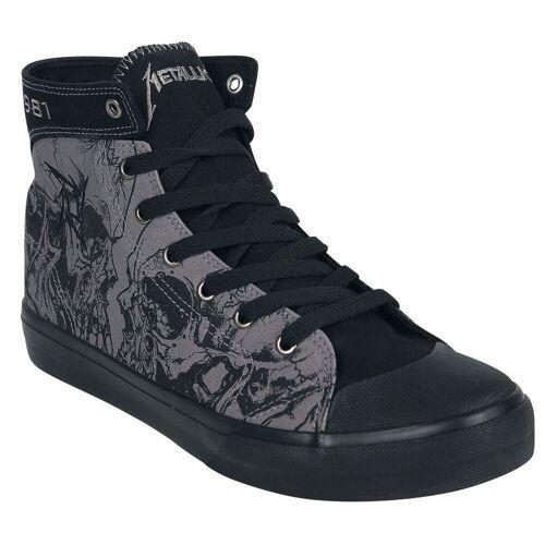 Metallica EMP Signature Sneaker high  - Offizielles Merchandise grau