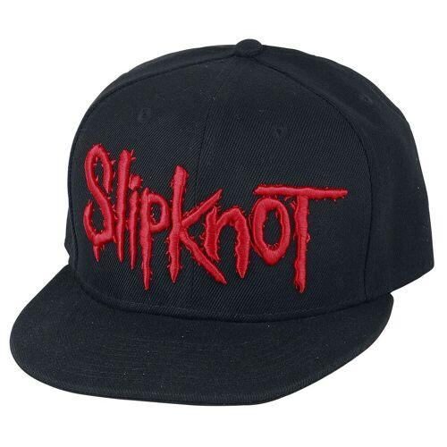 Slipknot Logo Cap-schwarz - Offizielles Merchandise schwarz