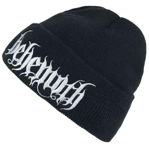 Behemoth Logo Mütze-schwarz - Offizielles Merchandise schwarz