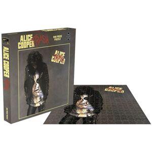 Alice Cooper Trash Puzzle-multicolor - Offizielles Merchandise multicolor
