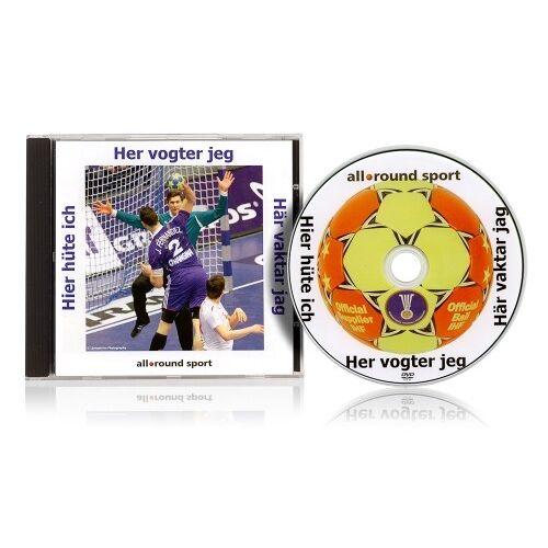 """HANDBALL DVD - """"Hier hüte ich"""" Torwarttraining"""