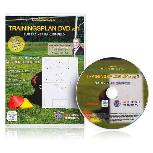 Trainingsplan DVD Vol. 1 - Für Trainer im Kleinfeld