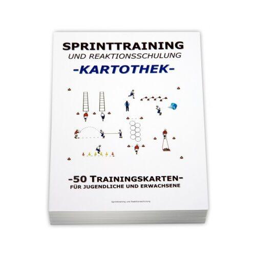"""Teamsportbedarf.de FUSSBALL Trainingskartothek - """"Sprinttraining"""""""