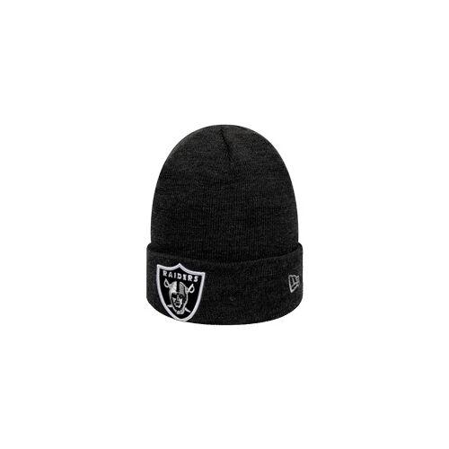 New Era NFL Oakland Raiders Essential Cuff Beanie, Gr.: UNI schwarz UNI