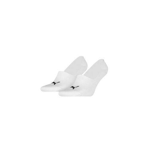Puma Footie Socks 2-PACK, Gr.: 35-38 weiss 35-38