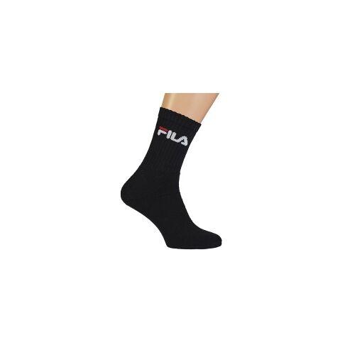 FILA Sport Socks 3er Pack, Gr.: 35-38 schwarz 35-38