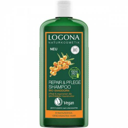 Logona Repair & Pflege Shampo Bio Sanddorn