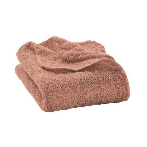Disana Woll-Babydecke rosé 100x80cm