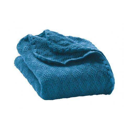 Disana Woll-Babydecke blau 100x80cm