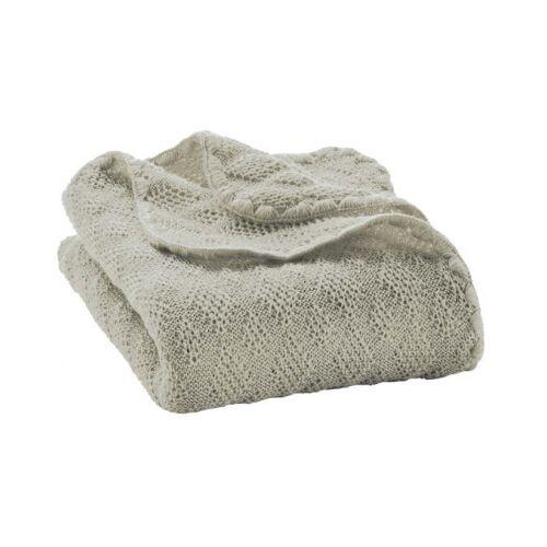 Disana Woll-Babydecke grau 100x80cm