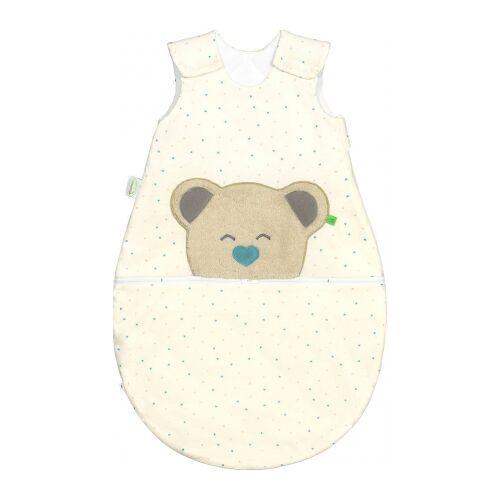 Odenwälder BabyNest® Mucki Air Jersey Schlafsack 70 cm hearts mint