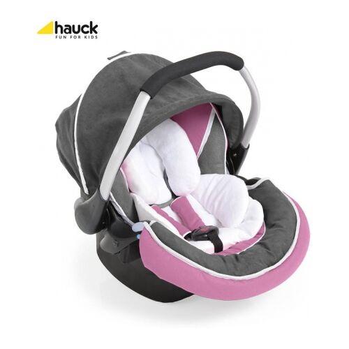 Hauck Zero Plus Select pink/grey 61409-9 Babyautositz Gr. 0-13 kg