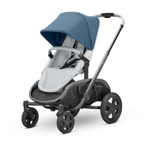 Quinny Hubb Kinderwagen Blue Coral on Grey
