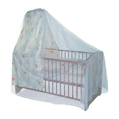 Baby Plus Insektennetz für Kinderbetten mit Himmel weiß