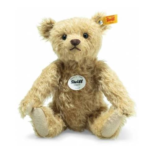 Steiff Teddybär James 26cm Mohair beige