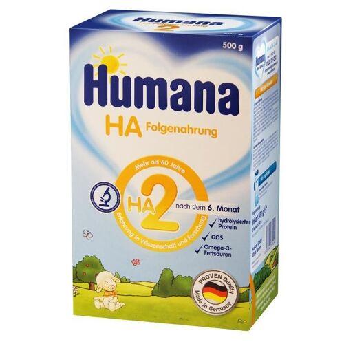 Humana HA 2, Milchpulver, 6m +, 500 g