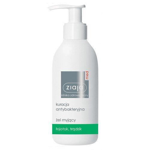 Ziaja Med, Antibakterielle Behandlung, Anti-Akne-Waschgel, 200 ml