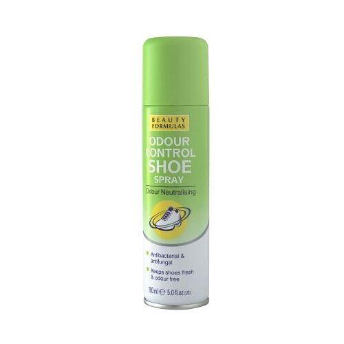 Beauty Formulas, Schuhdeodorant, antibakteriell und antimykotisch, 150 ml