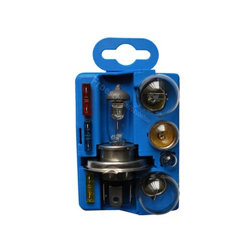 Lampenset 12V H4 Beleuchtung Sicherung Birne Glühlampe PKW Auto Ersatzbirnen
