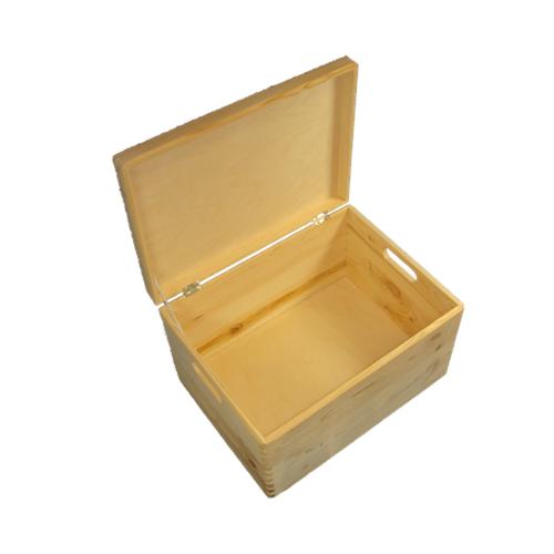 Holzkiste Kiste Aufbewahrungsbox mit Deckel aus Holz