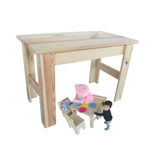 Kindertisch Holztisch Spieltisch Maltisch Kiefer Massiv Tisch aus Holz