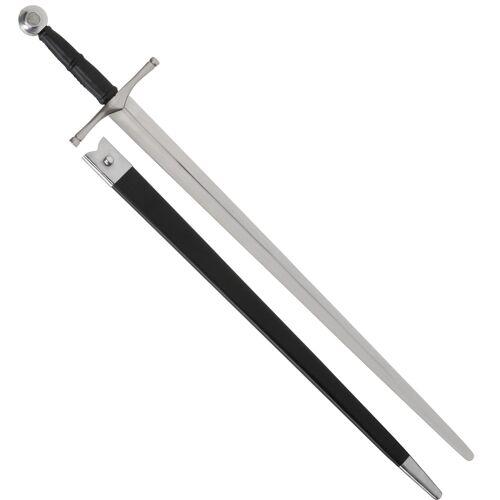Schaukampfschwert mit Scheide Mittelalter Reenactment Schaukampf