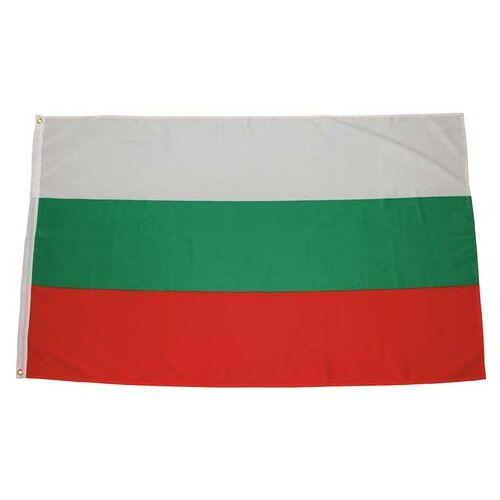 Fahne, Bulgarien, Polyester, Gr. 90 x 150 cm