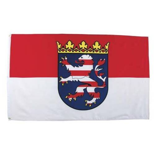 Fahne, Hessen, Polyester, Gr. 90x150 cm