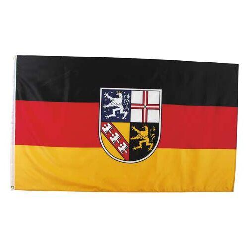 Fahne, Saarland, Polyester, Gr. 90x150 cm