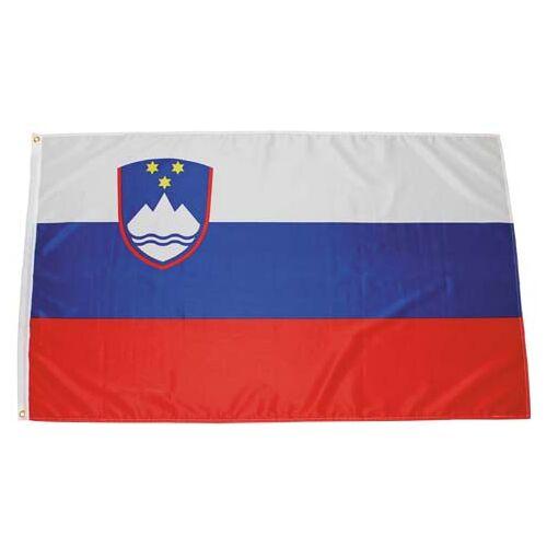 Fahne, Slowenien, Polyester, Gr. 90 x 150 cm