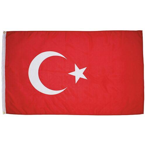 Fahne, Türkei, Polyester, Gr. 90 x 150 cm