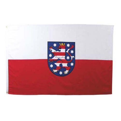 Fahne, Thüringen, Polyester, Gr. 90x150 cm