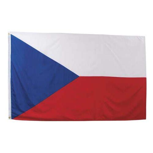 Fahne, Tschechische Republik,  Polyester, Gr. 90 x 150 cm