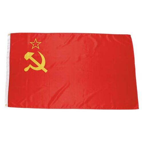 Fahne, UdSSR, Polyester, Gr. 90 x 150 cm