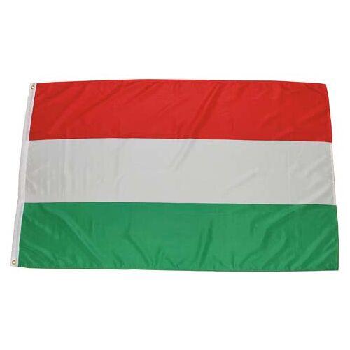 Fahne, Ungarn, Polyester, Gr. 90 x 150 cm